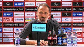 Die PK mit Pellegrino Matarazzo nach dem Osnabrück-Spiel