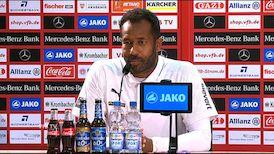 Die Pressekonferenz mit VfL Coach Daniel Thioune