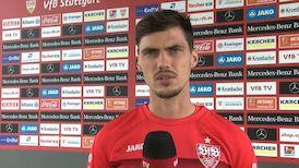 Pascal Stenzel nach dem Spiel gegen den VfL Osnabrück
