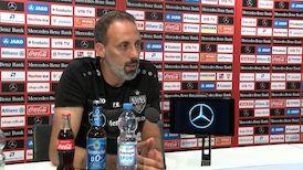 Die Pressekonferenz vor dem Heimspiel gegen Sandhausen