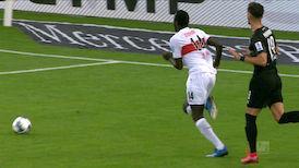 Highlights: VfB Stuttgart - Sandhausen