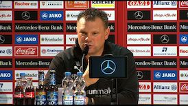 Pressekonferenz: VfB Stuttgart - SV Sandhausen