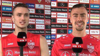 Im Interview: Sasa Kalajdzic & Philipp Förster