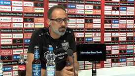 Die Video-PK vor dem Spiel beim 1. FC Nürnberg