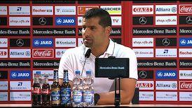 Pressekonferenz: VfB Stuttgart - SV Darmstadt 98