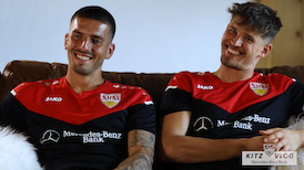 VfB KITZ VLOG by Mercedes-Benz Bank | Folge 4: Gregor Kobel & Fabian Bredlow