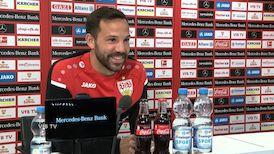Das Pressegespräch mit Gonzalo Castro