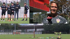 VfB U21 Cheftrainer Frank Fahrenhorst im Interview