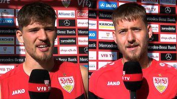 Die Interviews zum DFB-Pokalspiel in Rostock