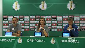 Pressekonferenz: Hansa Rostock - VfB Stuttgart