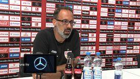 Die Video-Pressekonferenz vor dem Spiel beim 1. FSV Mainz 05