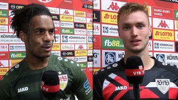 Die VfB Interviews nach dem Spiel in Mainz