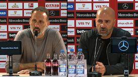 Pressekonferenzen: VfB Stuttgart - Bayer Leverkusen