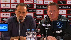 Pressekonferenzen: VfB Stuttgart - 1. FC Köln