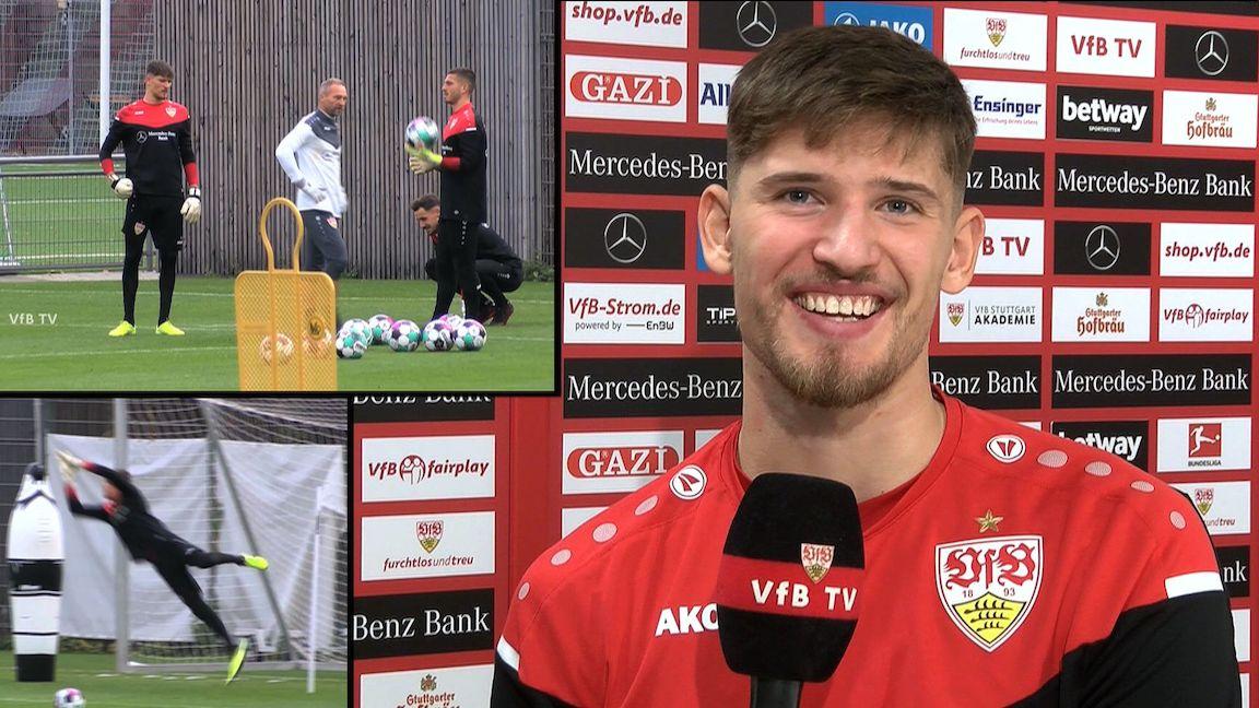 VfB Torhüter Gregor Kobel im Interview
