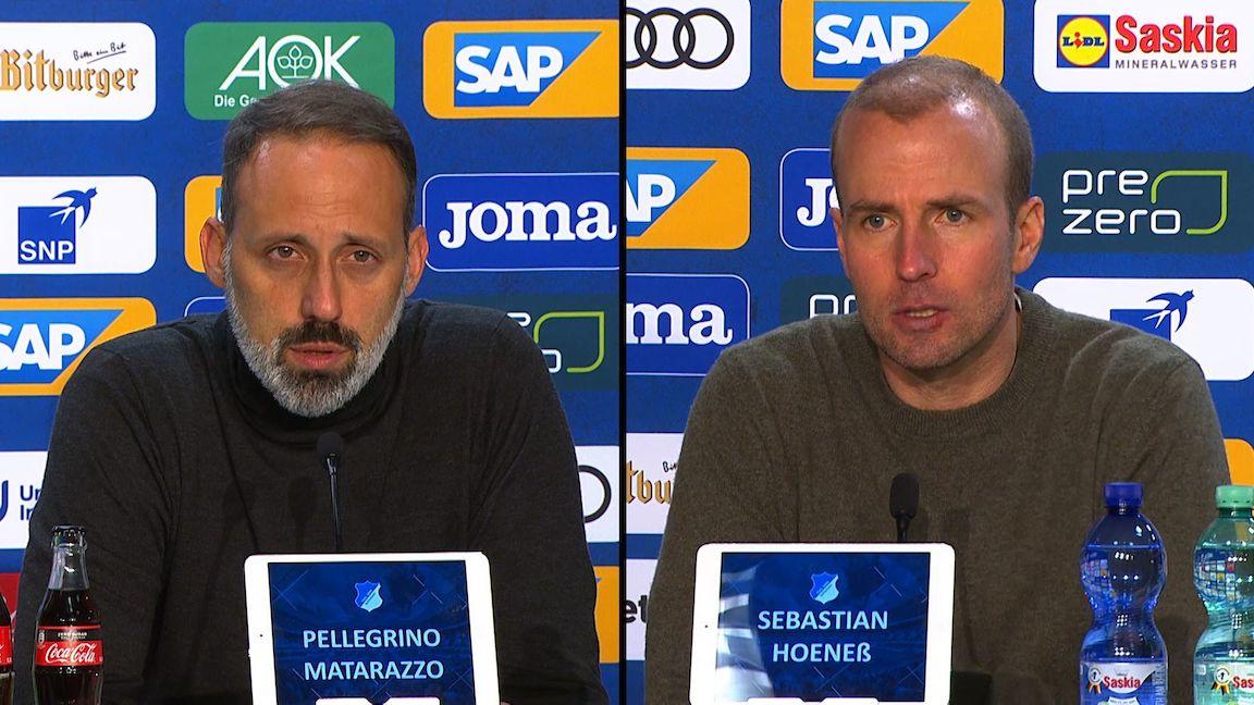 Pressekonferenzen: TSG Hoffenheim - VfB Stuttgart