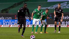 2. Halbzeit: SV Werder Bremen - VfB Stuttgart