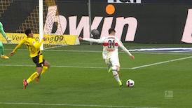 2. Halbzeit: Dortmund - VfB Stuttgart