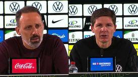 Pressekonferenzen: VfL Wolfsburg - VfB Stuttgart