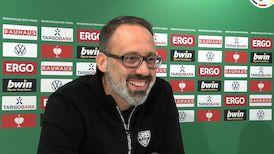 Die Video-PK vor dem DFB-Pokalspiel gegen den SC Freiburg