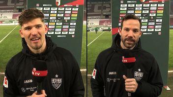 Die Interviews nach dem Spiel beim FC Augsburg
