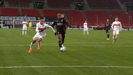 2. Halbzeit: VfB Stuttgart - Borussia Mönchengladbach
