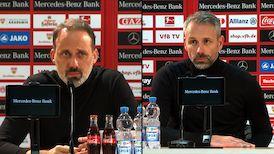 Pressekonferenzen: VfB Stuttgart - Borussia Mönchengladbach