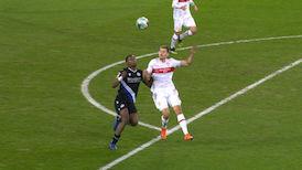 2. Halbzeit: Arminia Bielefeld - VfB Stuttgart