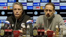 Pressekonferenzen: Arminia Bielefeld - VfB Stuttgart