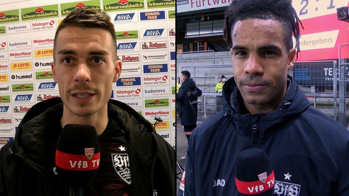 Die Interviews nach dem Spiel beim SC Freiburg