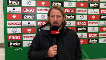 Sven Mislintat nach dem Pokal-Duell gegen Gladbach