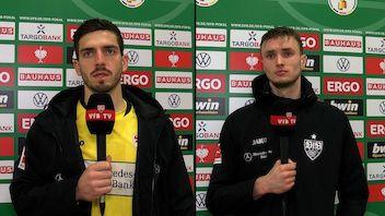Die Interviews zum DFB-Pokal-Achtelfinale