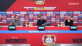 Pressekonferenz: Bayer Leverkusen - VfB Stuttgart