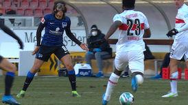 1. Halbzeit: VfB Stuttgart - Hertha BSC
