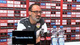 Die Video-PK vor dem Hertha-Spiel