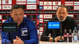 Pressekonferenzen: VfB Stuttgart - Hertha BSC Berlin