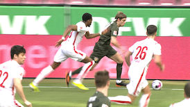 2. Halbzeit: 1. FC Köln - VfB Stuttgart
