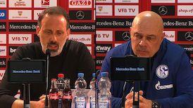 Pressekonferenzen: VfB Stuttgart - FC Schalke 04