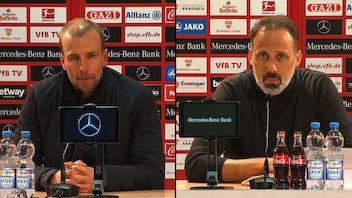 Pressekonferenzen: VfB Stuttgart - TSG Hoffenheim