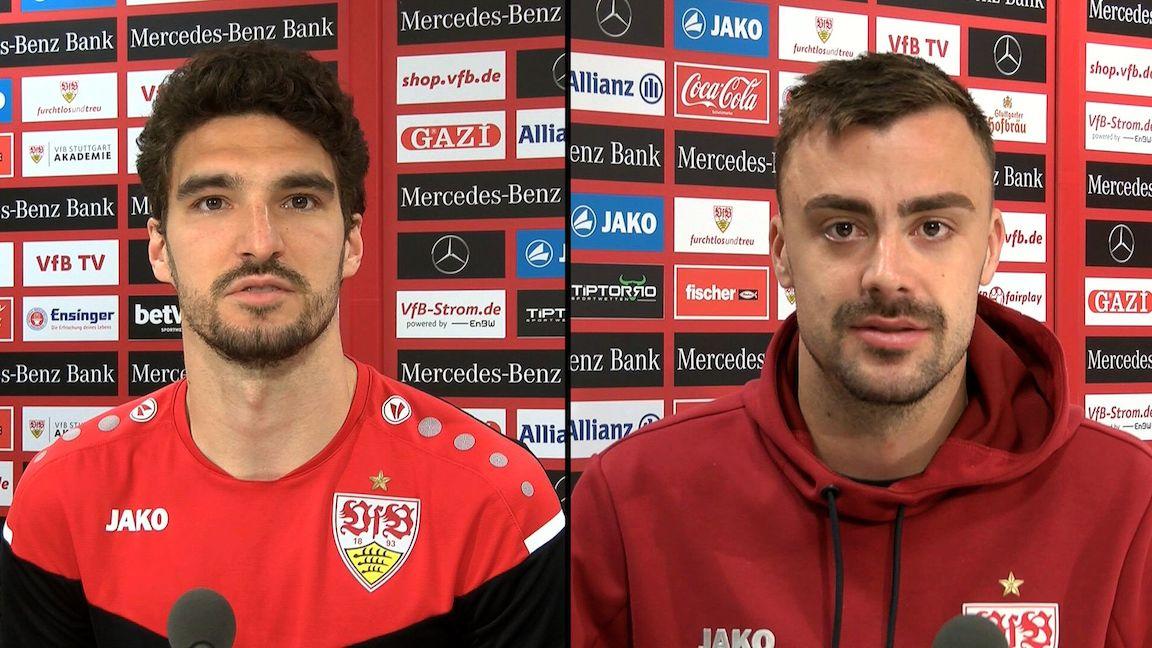 Die VfB Interviews zum Spiel gegen Union