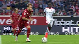1. Halbzeit: Fortuna Düsseldorf - VfB Stuttgart