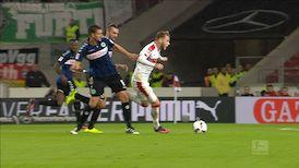 2. Halbzeit: VfB Stuttgart - SpVgg Greuther Fürth