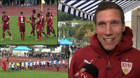 Highlights: Benefizspiel FSV Hollenbach - VfB Stuttgart