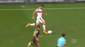 2. Halbzeit: VfB Stuttgart - FC St. Pauli