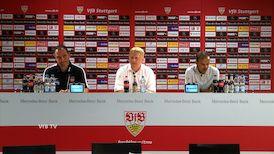 Die Pressekonferenz mit Jos Luhukay und Frank Schmidt