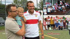 VfBfairplay: Besuch in der Nachsorgeklinik Tannheim
