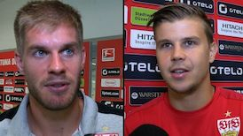 Die Interviews nach dem Düsseldorf-Spiel