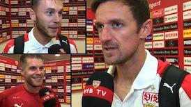 Die Interviews nach dem Heimspiel gegen St. Pauli