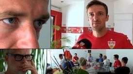 Presserunde mit Christian Gentner