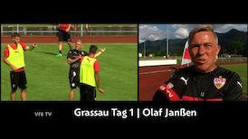 Olaf Janßen über den ersten Trainingstag